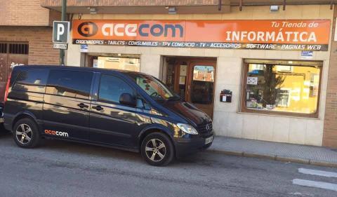 Tienda Acecom - Servicios Informáticos